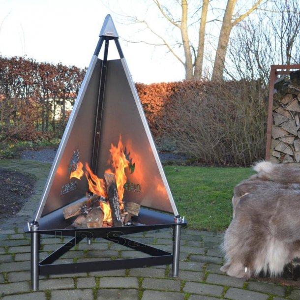 T-fireplace - T-pejs - udendørs pejs