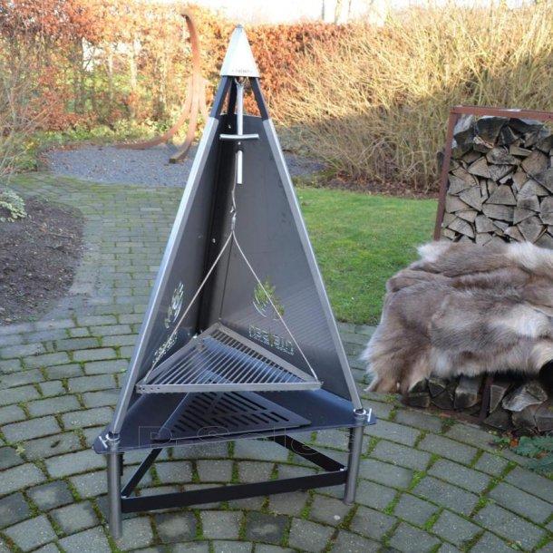 T-fireplace/grill - udendørs pejs m. grillrist