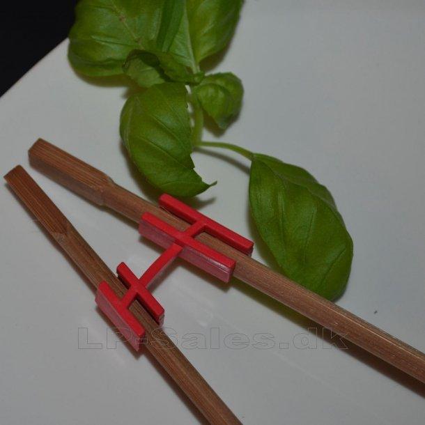 Choku Bone - simpel pindeholder - rød