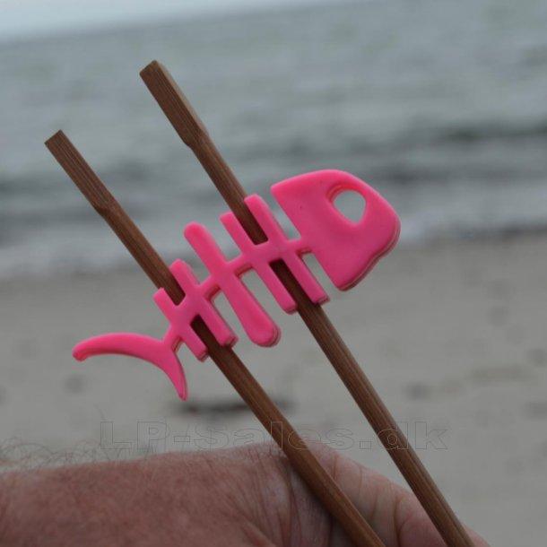 Choku Fish - spisepindeholder - pink