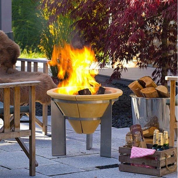Feuerspeicher - bålfad og terrassevarmer - fra Denk