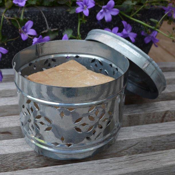 Olivensæbe - blok i zinkboks - 200g