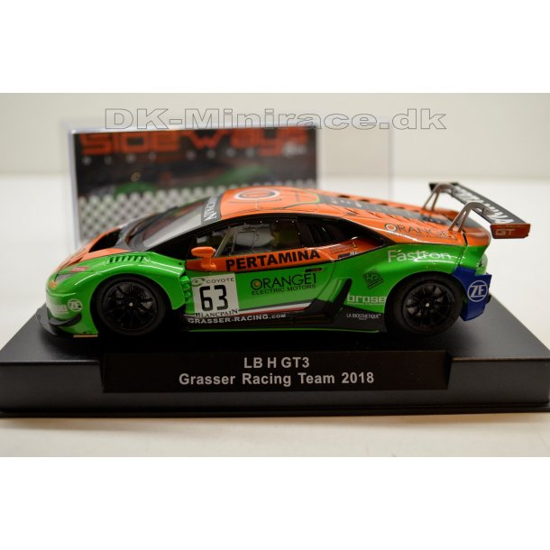 Lamborghini LB H GT3 Grasser Racing Team 2018 - Sideways