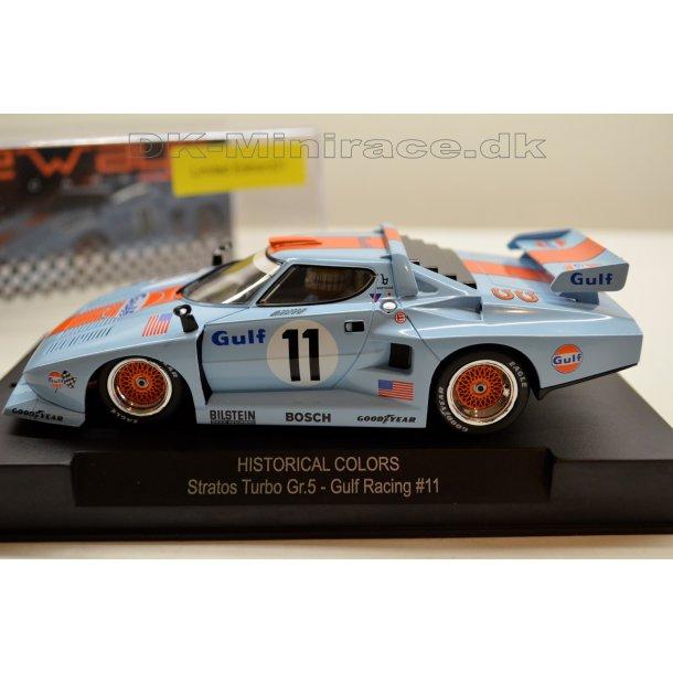 Lancia Stratos Turbo Gr. 5 - Gulf Racing - limited edition - Sideways