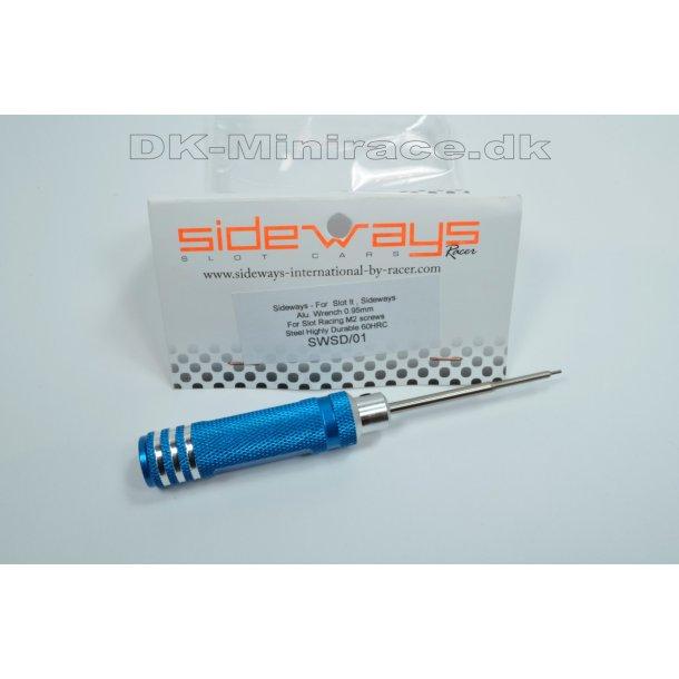Unbraco skruetrækker, præcisionsværktøj, 0,95mm