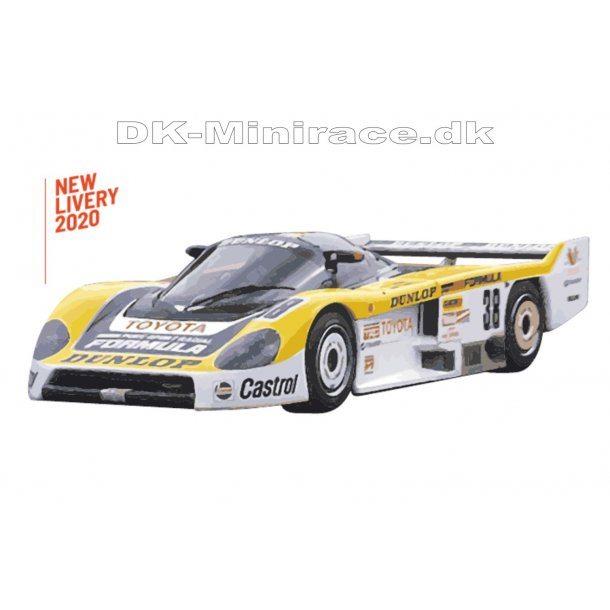 Toyota 86C no 38 - Le Mans 1986 - slot.it