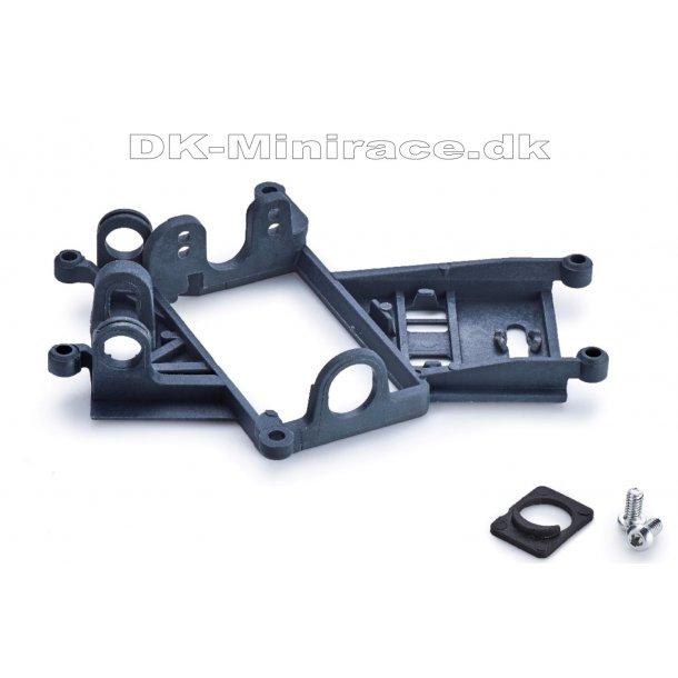 Anglewinder Boxer/Flat motor mount 0.5mm offset - EV06 - hard - bearing version  - slot.it