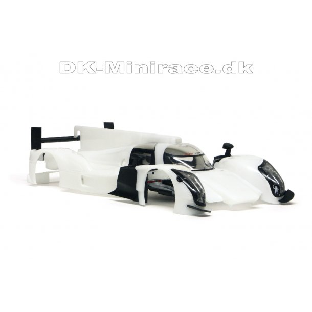 Audi R18 TDI white inline body kit - slot.it