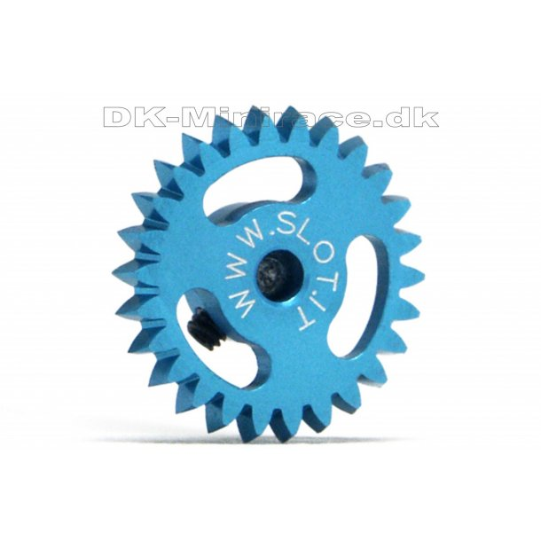 Kronhjul - spur gear light - Anglewinder Gear Ergal - 26 tands Ø16mm - slot.it