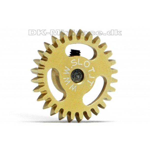 Kronhjul - spur gear light - Anglewinder Gear Ergal - 28 tands Ø16mm - slot.it