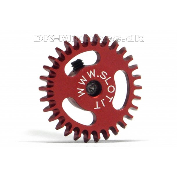 Kronhjul - spur gear light - Anglewinder Gear Ergal - 30 tands Ø16mm - slot.it