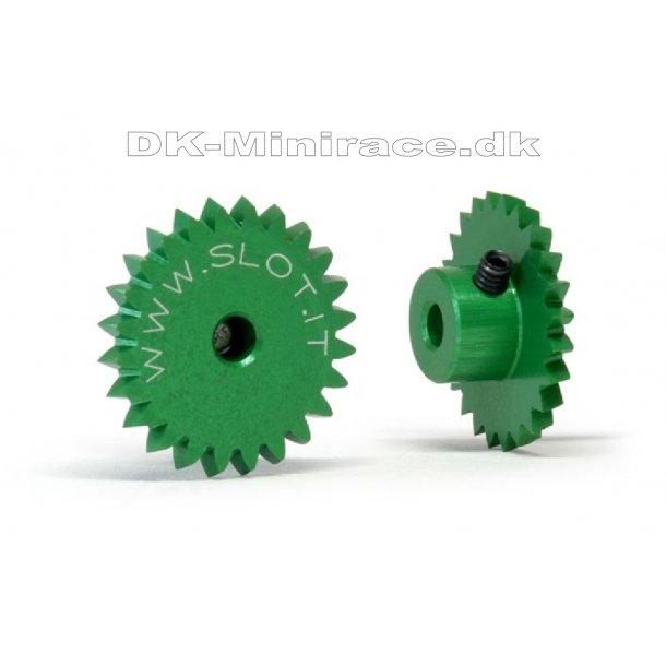 Kronhjul - spur gear - Flat Anglewinder Gear Ergal - 24 tands Ø15mm - slot.it