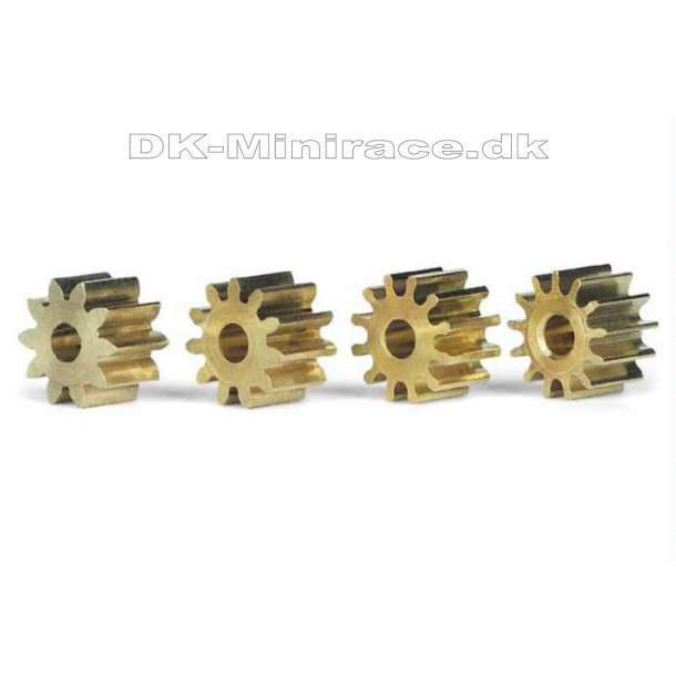 Pinion - tandhjul - 10+11+12+13 tands Ø6,5mm - slot.it