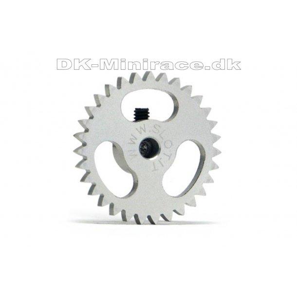 Kronhjul - spur gear light - Sidewinder Gear Ergal - 31 tands Ø18mm - slot.it