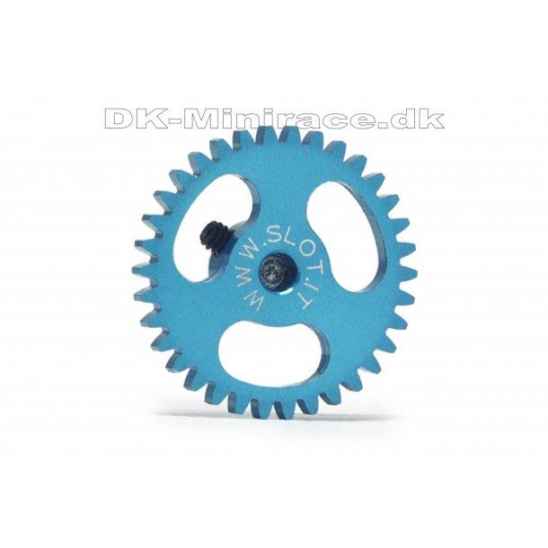 Kronhjul - spur gear light - Sidewinder Gear Ergal - 34 tands Ø18mm - slot.it