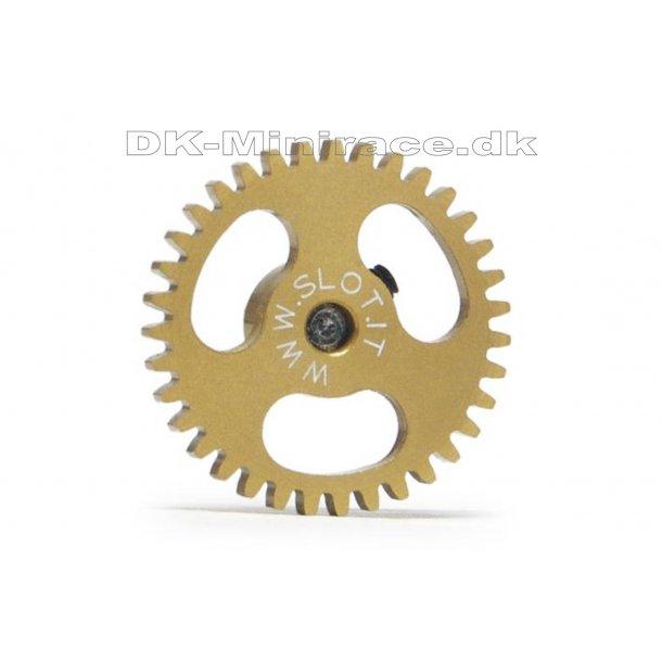 Kronhjul - spur gear light - Sidewinder Gear Ergal - 35 tands Ø18mm - slot.it