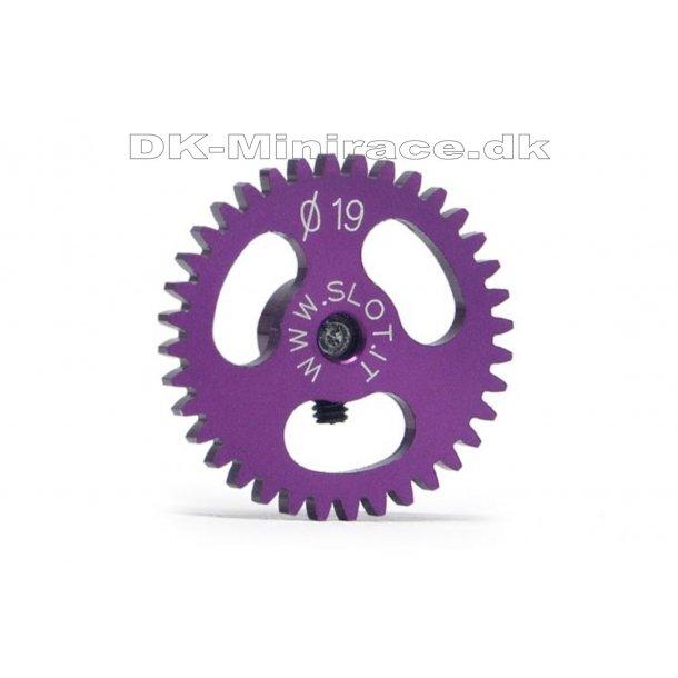 Kronhjul - spur gear light - Sidewinder Gear Ergal - 36 tands Ø19mm - slot.it