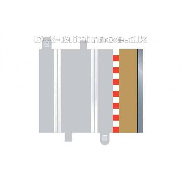 Autoværn - ½ straight Borders & Barries - for C8207) - Scalextric