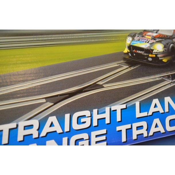 Digital skiftespor - straight lane track change - Scalextric