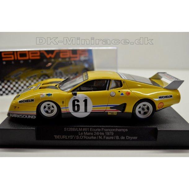 Ferrari 512BB / LM No 61 - Sideways