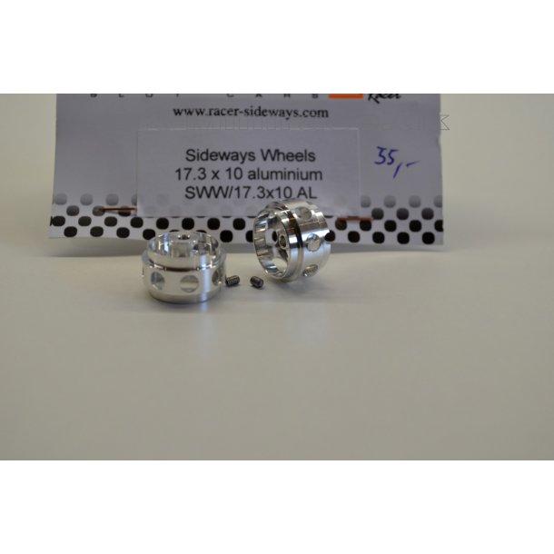 Hjul - Fælg - 17,3x10 aluminium