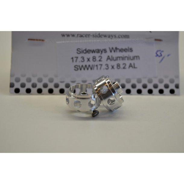 Hjul - Fælg - 17,3x8,2 aluminium