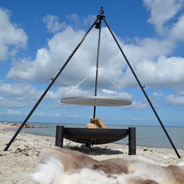 Treben med Ø80cm RUSTFRI grillrist - Farmcook - Oscar