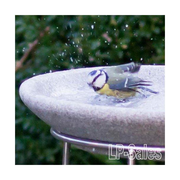 Fuglebad og drikketrug