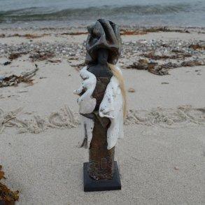 Raku-skulptur - Kidmose Keramik