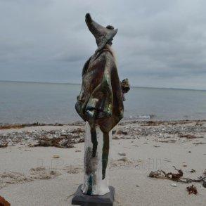 Raku skulpturer - Kidmose Keramik