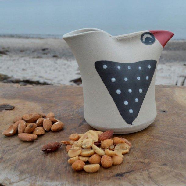 Snackbird - lys/rød - Printz Keramik