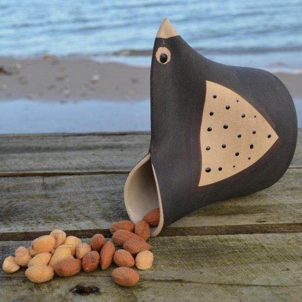 Snackbird - mørk - Printz Keramik