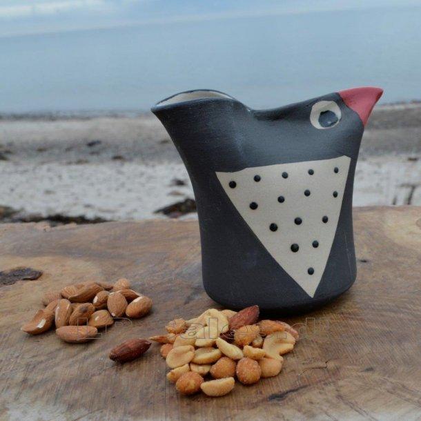 Snackbird - mørk/rød - Printz Keramik