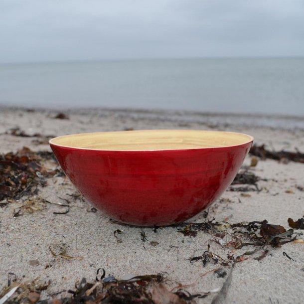 Skål til frugt/salat - Ø26 cm - bambus