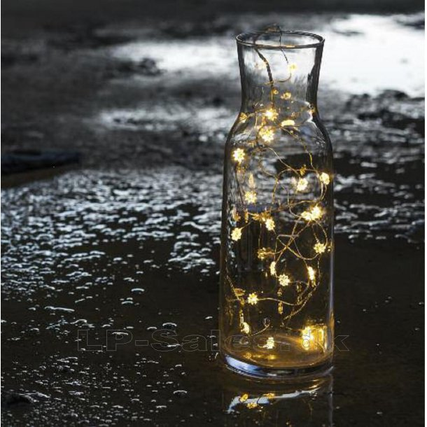 Silke - Sirius lyskæde - batteri - indoor