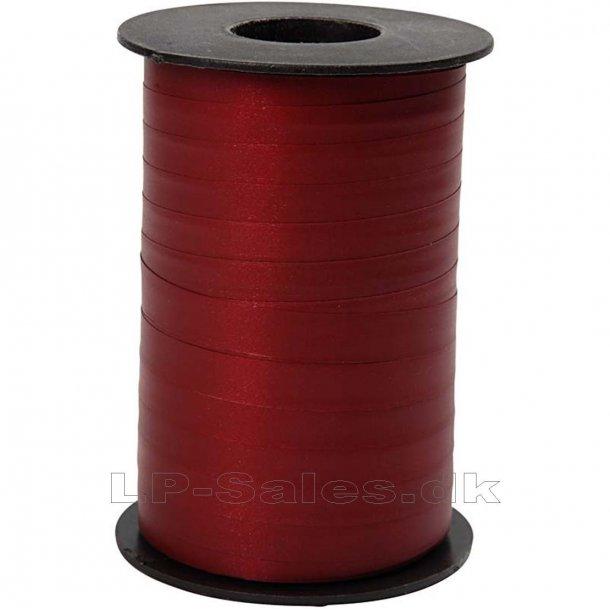 Gavebånd - mat mørk rød - 250m